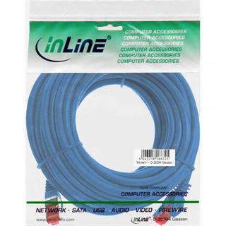 (€0,35*/1m) 40.00m InLine Cat. 6 Patchkabel S/FTP PiMF RJ45