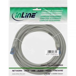 (€0,96*/1m) 25.00m InLine Cat. 6a Patchkabel S/FTP PiMF RJ45
