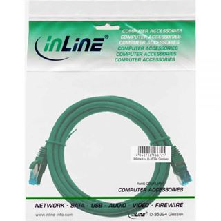 (€4,60*/1m) 1.50m InLine Cat. 6a Patchkabel S/FTP PiMF RJ45