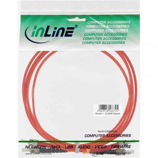 (€4,45*/1m) 2.00m InLine LWL Duplex Patchkabel 62,5/125 µm