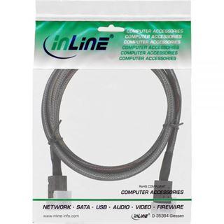 (€43,90*/1m) 1.00m InLine SAS 6Gb/s Anschlusskabel SFF-8643
