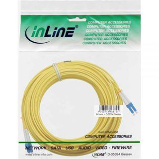(€0,86*/1m) 15.00m InLine LWL Duplex Patchkabel 9/125 µm