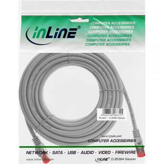 (€0,66*/1m) 30.00m InLine Cat. 6 Patchkabel S/FTP PiMF RJ45