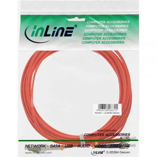 (€0,68*/1m) 25.00m InLine LWL Duplex Patchkabel 50/125 µm