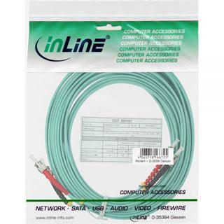 (€0,76*/1m) 25.00m InLine LWL Duplex Patchkabel 50/125 µm