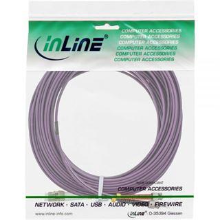 (€1,48*/1m) 25.00m InLine LWL Duplex Patchkabel 50/125 µm