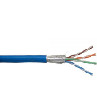 (€0,23*/1m) 100.00m InLine Cat. 5e Patchkabel SF/UTP Blau