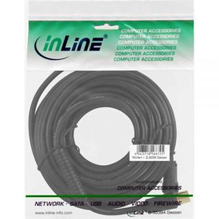 (€0,79*/1m) 10.00m InLine Antenne Anschlusskabel Premium-Line