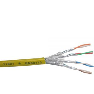 (€0,81*/1m) 100.00m InLine Cat. 6 Patchkabel S/FTP PiMF Gelb