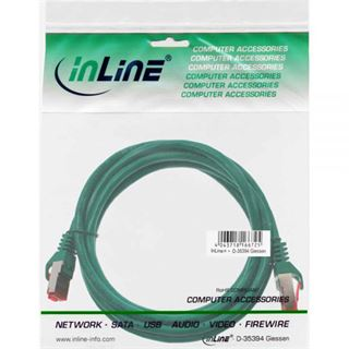(€2,60*/1m) 1.50m InLine Cat. 6 Patchkabel S/FTP PiMF RJ45