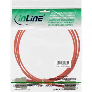 (€17,80*/1m) 0.50m InLine LWL Duplex Patchkabel 62,5/125