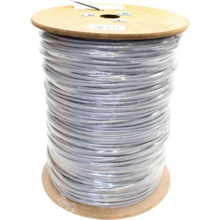 (€0,23*/1m) 500.00m InLine Cat. 5e Patchkabel SF/UTP Grau