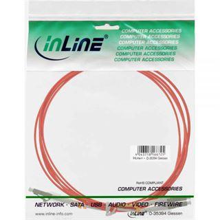 (€3,30*/1m) 3.00m InLine LWL Duplex Patchkabel 62,5/125 µm