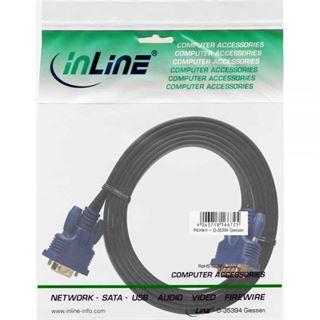 (€4,60*/1m) 1.50m InLine S-VGA Anschlusskabel VGA 15pol Stecker
