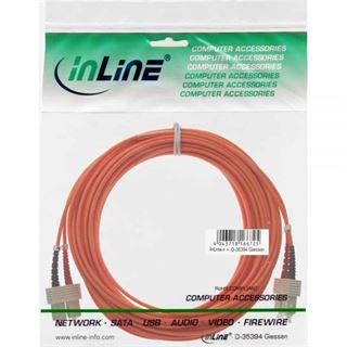 (€1,19*/1m) 10.00m InLine LWL Duplex Patchkabel 62,5/125