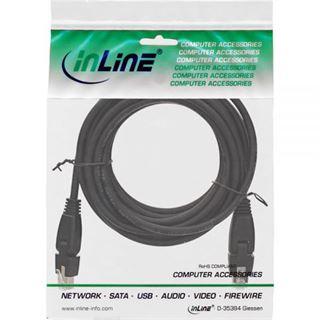 (€2,18*/1m) 5.00m InLine Cat. 6a Patchkabel S/FTP PiMF RJ45