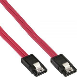 (€13,00*/1m) 0.30m InLine SATA 6Gb/s Anschlusskabel SATA Stecker