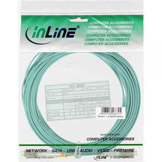 (€15,80*/1m) 0.50m InLine LWL Duplex Patchkabel 50/125 µm