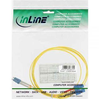 (€3,30*/1m) 3.00m InLine LWL Duplex Patchkabel 9/125 µm