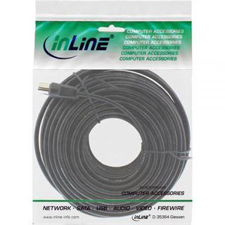 (€0,35*/1m) 20.00m InLine Antenne Anschlusskabel doppelt