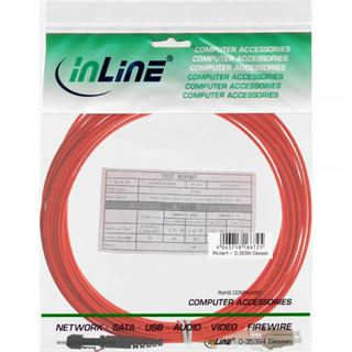 (€5,45*/1m) 2.00m InLine LWL Duplex Patchkabel 50/125 µm