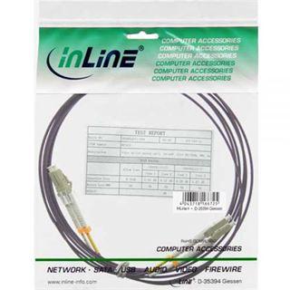 (€2,38*/1m) 5.00m InLine LWL Duplex Patchkabel 50/125 µm