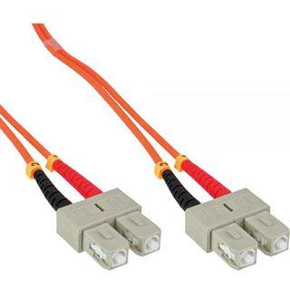 30.00m InLine LWL Duplex Patchkabel 62,5/125 µm OM1 SC Stecker