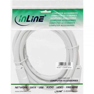 (€0,98*/1m) 5.00m InLine Antenne Anschlusskabel doppelt