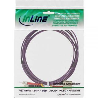 (€4,30*/1m) 3.00m InLine LWL Duplex Patchkabel 50/125 µm
