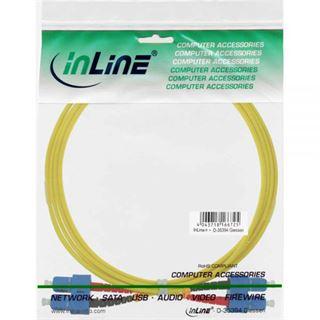 (€4,95*/1m) 2.00m InLine LWL Duplex Patchkabel 9/125 µm