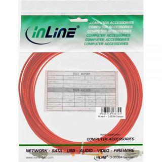 (€0,64*/1m) 25.00m InLine LWL Duplex Patchkabel 50/125 µm