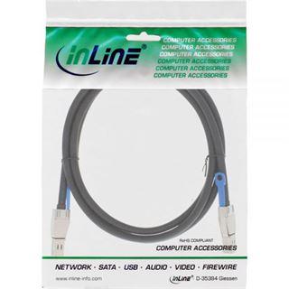 (€56,45*/1m) 2.00m InLine SAS 12Gb/s Anschlusskabel SFF-8644