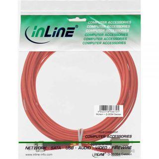(€0,79*/1m) 10.00m InLine LWL Duplex Patchkabel 50/125 µm