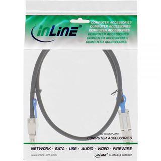 (€93,90*/1m) 1.00m InLine SAS 6Gb/s Anschlusskabel SFF-8644