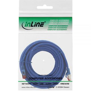 (€0,79*/1m) 15.00m InLine Cat. 6 Patchkabel S/FTP PiMF RJ45