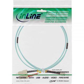(€3,30*/1m) 3.00m InLine LWL Duplex Patchkabel 50/125 µm