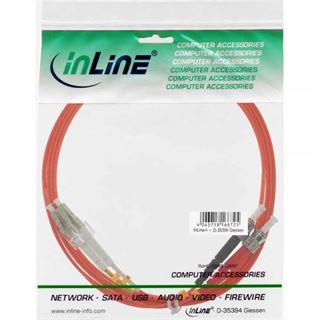 (€1,98*/1m) 5.00m InLine LWL Duplex Patchkabel 62,5/125 µm