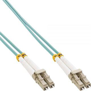 (€0,86*/1m) 15.00m InLine LWL Duplex Patchkabel 50/125 µm