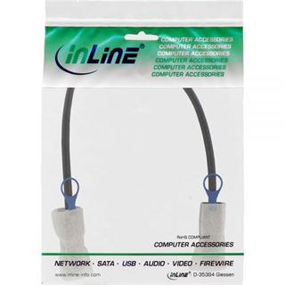 (€79,80*/1m) 0.50m InLine SAS 6Gb/s Adapterkabel SFF-8088