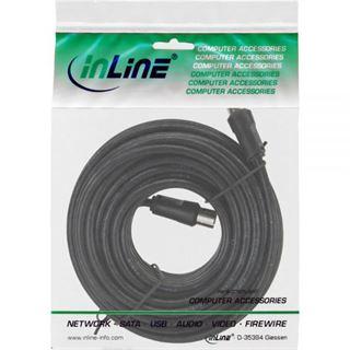 10.00m InLine Antenne Anschlusskabel doppelt geschirmt IEC-Stecker