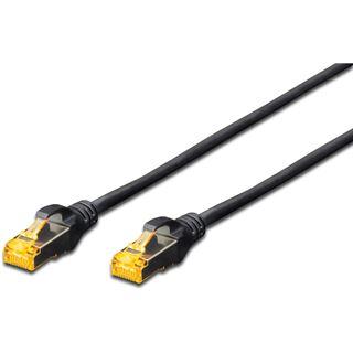 (€6,90*/1m) 1.00m Digitus Cat. 6a Patchkabel S/FTP RJ45 Stecker