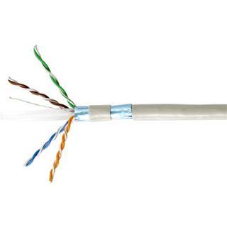 (€0,65*/1m) 305.00m Equip Cat. 6 Verlegekabel F/UTP beige PVC /