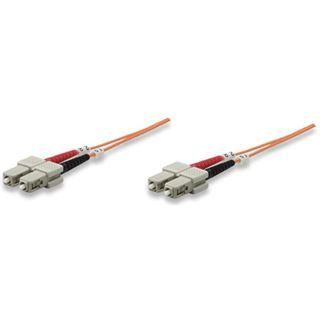 (€7,90*/1m) 1.00m Intellinet LWL Duplex Anschlusskabel 62,5/125