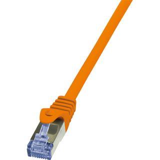 (€4,90*/1m) 1.00m LogiLink Cat. 6a Patchkabel S/FTP PiMF RJ45