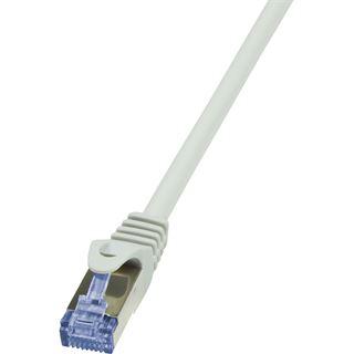 (€1,63*/1m) 3.00m LogiLink Cat. 6a Patchkabel S/FTP PiMF RJ45