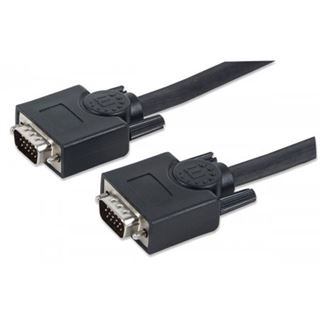 (€1,09*/1m) 10.00m Manhattan S-VGA Anschlusskabel doppelt