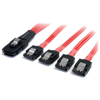 (€64,90*/1m) 1.00m Startech SATA Anschlusskabel SFF-8087 Stecker