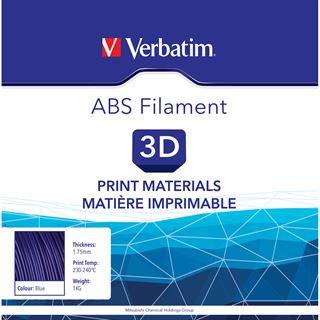 Verbatim Filament 3D Drucker 1.75mm 1kg ABS blau