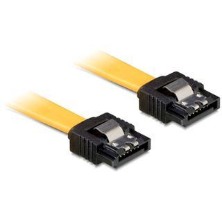 (€13,00*/1m) 0.30m Delock SATA 6Gb/s Anschlusskabel SATA Stecker