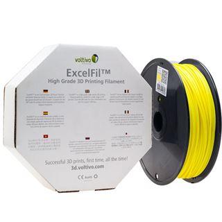 Voltivo ExcelFil 3D Druck Filament, ABS, 3mm - gelb